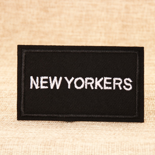 New Yorkers Custom Patches