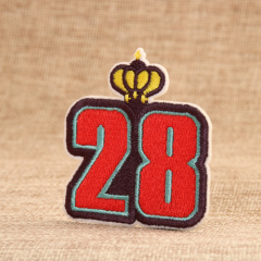 28 Embroidered Patches