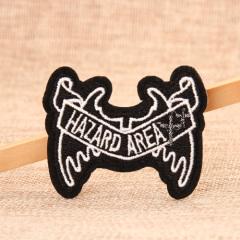HAZARD AREA Custom Patches
