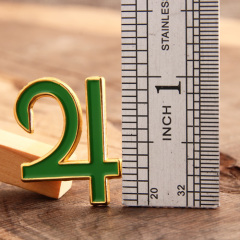 24 Custom Pins