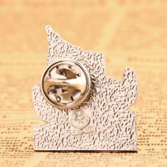 Three-eyed Alien Custom Pins