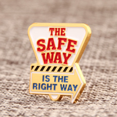 The Safe Way Custom Pins