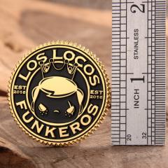 Los Locos Funkeros Lapel Pins