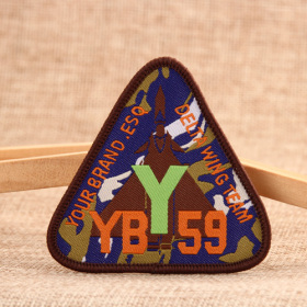 YB Embroidered Patches