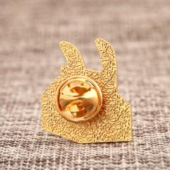 Rabbit Milk Carton Lapel Pins