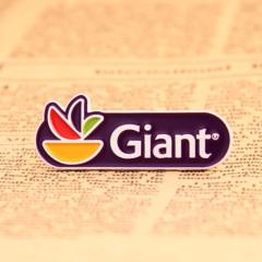 Giant Custom Enamel Pins