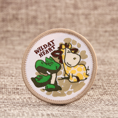 Wild At Heart Woven Patches