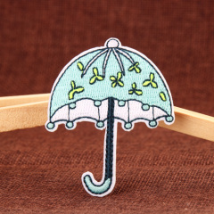 Umbrella Embroidered Patches