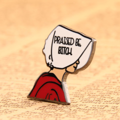Bitch custom enamel pins
