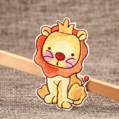 Lion Embroidered Patches