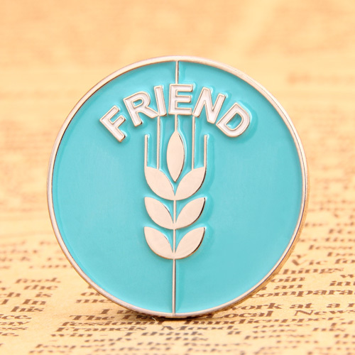 Friend Lapel Pins