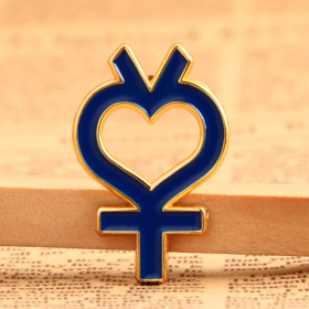 Female Symbol Lapel Pins
