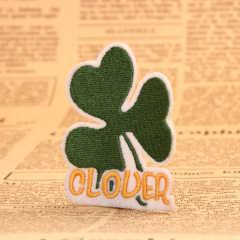 Clover Embroidered Patches