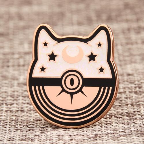 Luna Ball Custom Enamel Pins