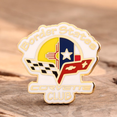 Corvette Club Soft Pins