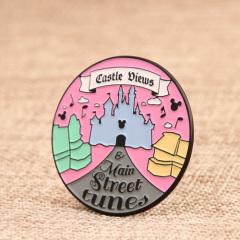 Disney Castle Views Custom Pins