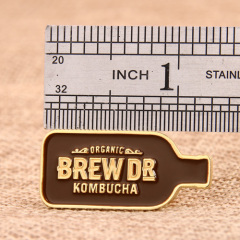 Brew Dr. Kombucha Custom Pins