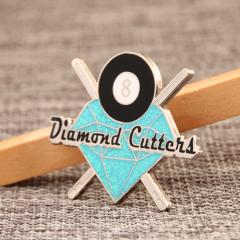 Diamond cutten1 lapel pins
