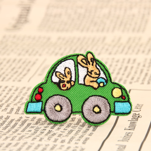 Lovely Car Embroidered Patches