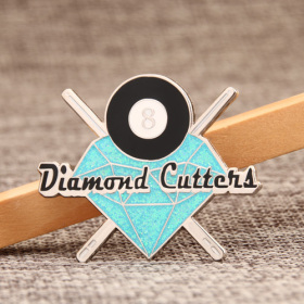 Diamond cutten1 lapel pins
