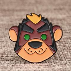Happy Lion Carton Pins