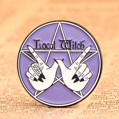 Witch magic lapel pins