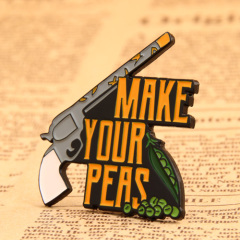 Make Your Peas Lapel Pins