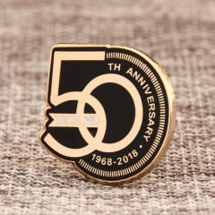 50th Anniversary Custom Pins