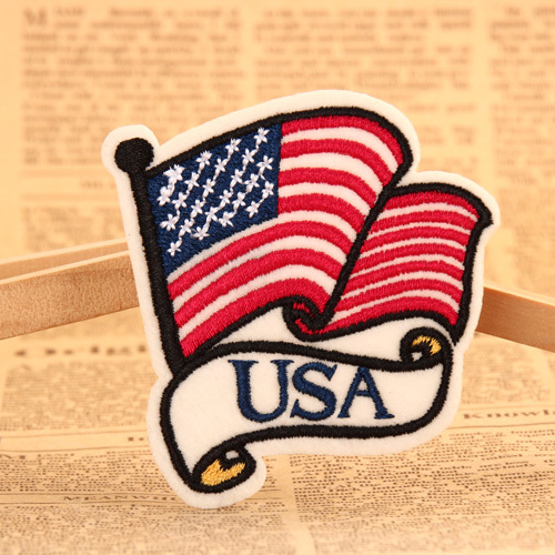 USA Embroidered Patches