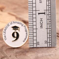 Programmers League School Pins