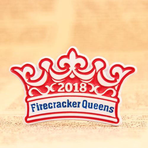 Firecracker Queens Lapel Pins