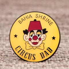 Bahia Shrine Circus Lapel Pins