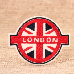 London Embroidered Patches