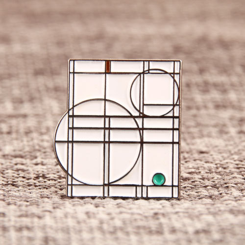 Geometric Patterns Lapel Pins