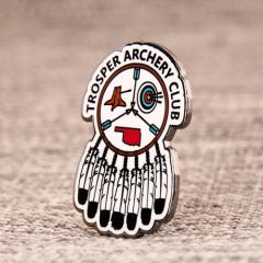 Trosper Archery Club Custom Pins