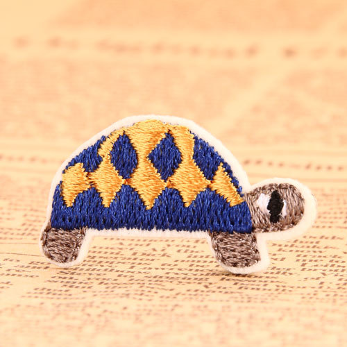 Tortoise Embroidered Patches