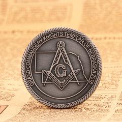 Freemason Custom Coins