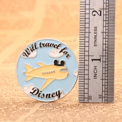 Will Travel For Disney Pins