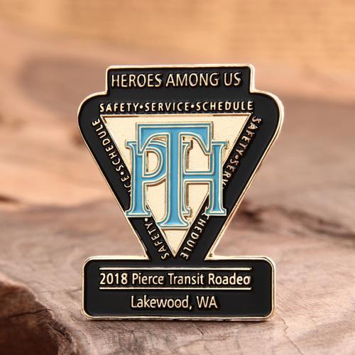 PTH custom lapel pins