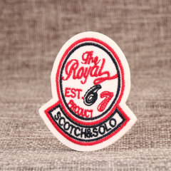 Royal Embroidered Patches