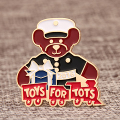 Toys for Tots Lapel Pins