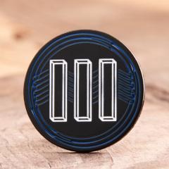 Geometric Logo Lapel Pins