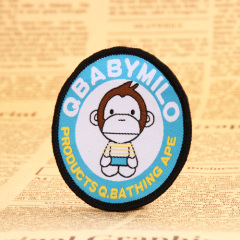 Monkey Baby Woven Patches