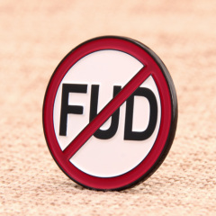 FUD custom enamel pins