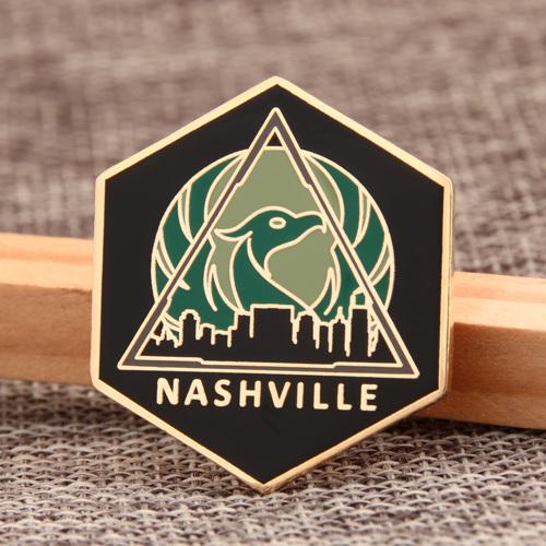 Nashville Enamel Pins