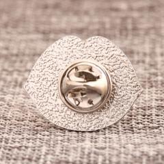 Lip custom enamel pins