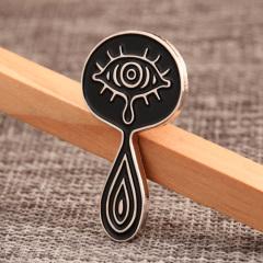 Eye with Tears Custom Pins