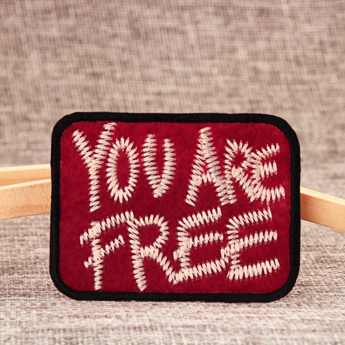 You Are Free Custom Patches