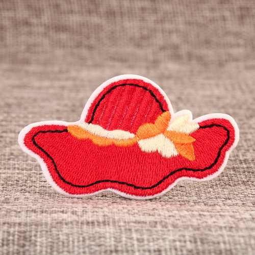 Red Hat Custom Embroidered Patches