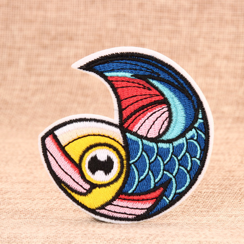 Colorful Fish Custom Patches